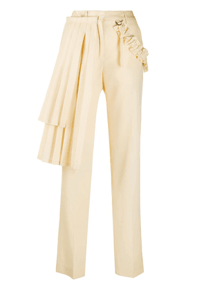 Off-White GABARD CURTAINS PANEL PANT BEIGE NO COL - Neutrals
