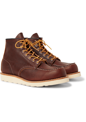 Red Wing Shoes - 8138 Moc Leather Boots - Men - Brown