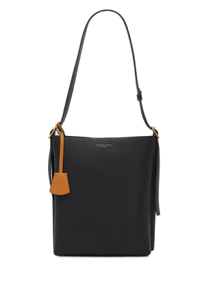 Perry Leather Bucket Bag