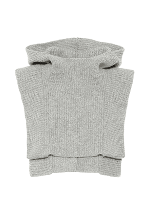 Palmer cashmere and wool vest