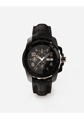 Dolce & Gabbana Watches - DS5 WATCH IN RED GOLD AND STEEL WITH PVD COATING BLACK