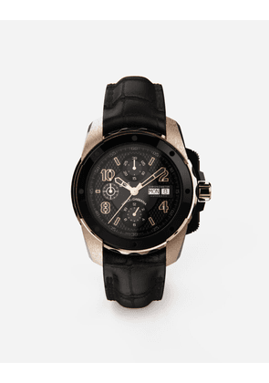 Dolce & Gabbana Watches - DS5 watch in red gold and steel with pvd coating BLACK male OneSize