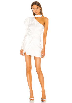 Camila Coelho Nayara Mini Dress in White. Size XL.