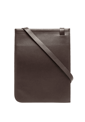 Lemaire - Leather Cross-body Bag - Mens - Brown