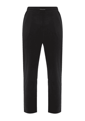 Lahgo - Organic Pima-cotton Pyjama Trousers - Mens - Black