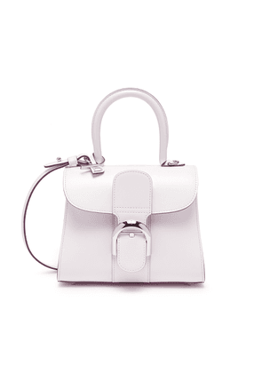'Brilliant mini' leather satchel