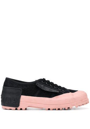 Marco De Vincenzo x Superga Alpina H2 sneakers - Black