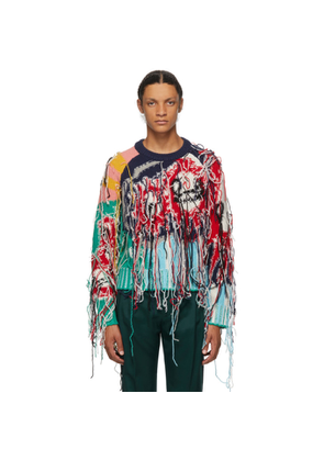 Charles Jeffrey Loverboy Multicolor Guddle Tassle Sweater