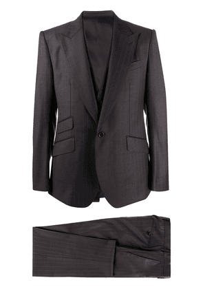 Dolce & Gabbana single-breasted suit - Grey