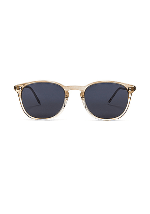 Oliver Peoples Finley Vintage Sunglasses in Military & Washed Blue - White. Size all.