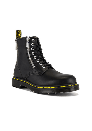 Dr. Martens 1460 Zip Nappa Boot in Black - Black. Size 10 (also in ).