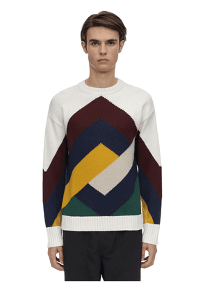Graphic Mereno Wool Blend Sweater