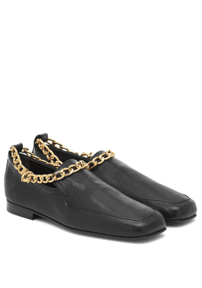 Nick leather loafers