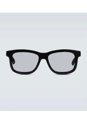 Square-framed acetate sunglasses