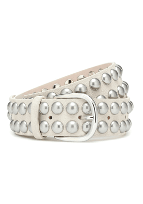 Zaf studded leather belt