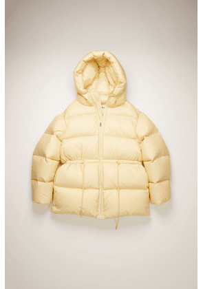 Acne Studios FN-WN-OUTW000324 Cream beige  Hooded puffer coat