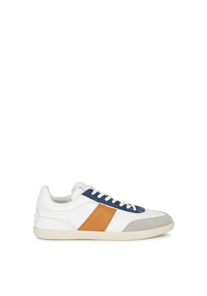 Tod's Cassetta White Leather Sneakers