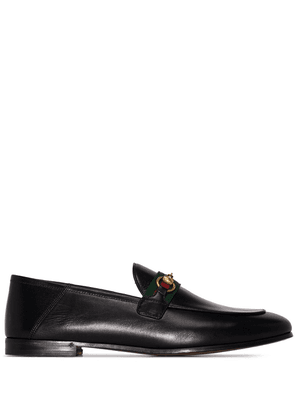 Gucci Brixton Web-detail loafers - Black