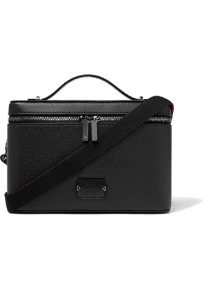 Christian Louboutin - Full-Grain Leather Messenger Bag - Men - Black