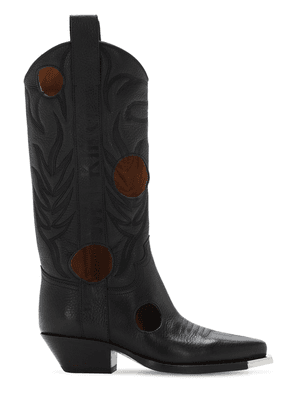 45mm Meteor Leather Boots