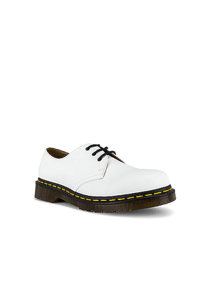 Dr. Martens 1461 Smooth Buck in White - White. Size 9 (also in ).