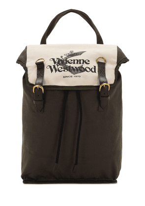 Worker Cotton Canvas Backpack