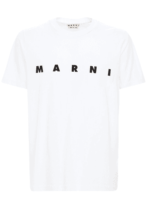 Logo Print Cotton Jersey T-shirt