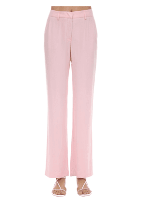 Lover Viscose Blend Straight Leg Pants