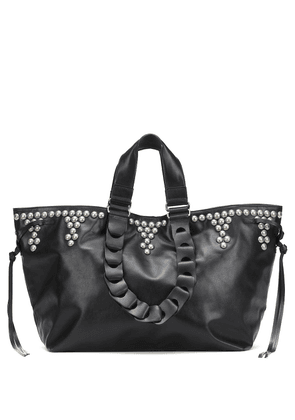 Wardy Large leather tote