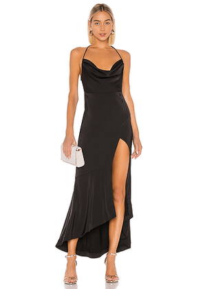 Lovers + Friends West Gown in Black. Size M,S.