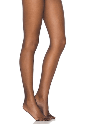 Wolford Individual 10 Tights in Black. Size S,L.