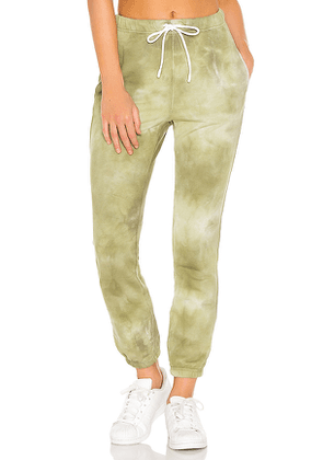 COTTON CITIZEN Milan Sweats in Green. Size M,S,XS.