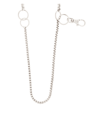 Martine Ali - Paolo Sterling-silver Plated Chain Necklace - Mens - Silver