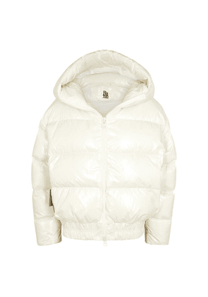 Bacon Cloud White Quilted Shell Jacket