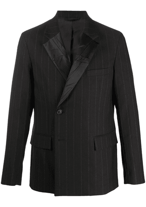Acne Studios pinstriped suit blazer - Brown