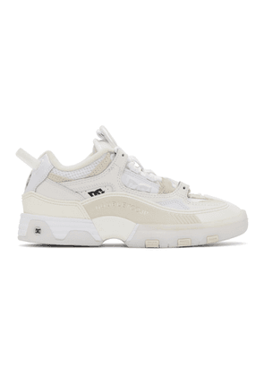 Doublet White DC Shoes Edition Hybrid Sneakers