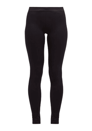 Falke - Vision High-rise Performance Leggings - Womens - Black