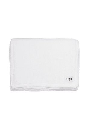 UGG Duffield Throw Blanket in Cream.
