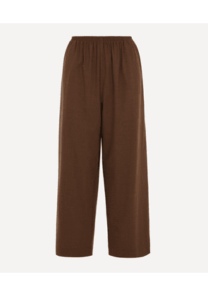 Japanese Wool-Blend Trousers