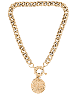 8 Other Reasons Maddison Necklace in Metallic Gold.