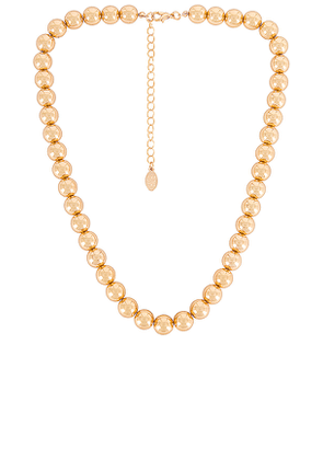 8 Other Reasons Shae Necklace in Metallic Gold.