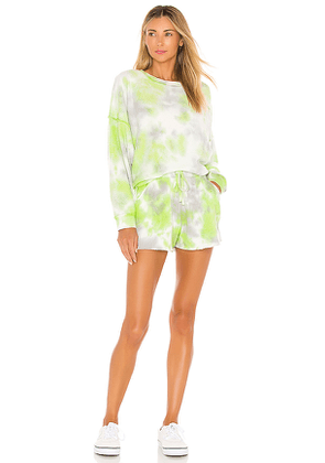 Free People Kelly Set in Green, Grey. Size M,S,XS.