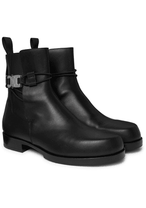 1017 ALYX 9SM - Buckled Leather Chelsea Boots - Men - Black