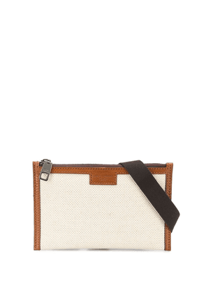 Dolce & Gabbana zipped belt bag - Neutrals