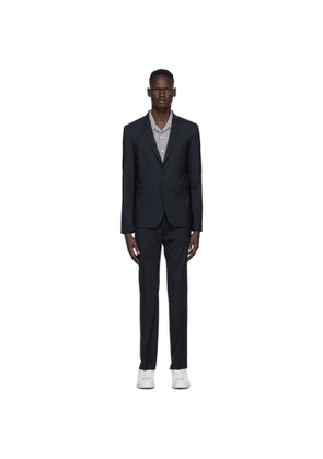 PS by Paul Smith Navy Wool Besom Suit