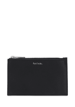 Leather Zip Card Wallet