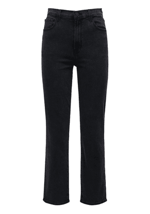 Alma High Waist Cigarette Crop Jeans