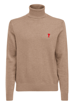 Logo Merino Wool Fine Knit Sweater