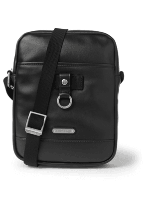 SAINT LAURENT - Rivington Leather Messenger Bag - Men - Black