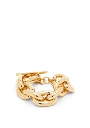 Paco Rabanne - Chunky Chain Bracelet - Womens - Gold